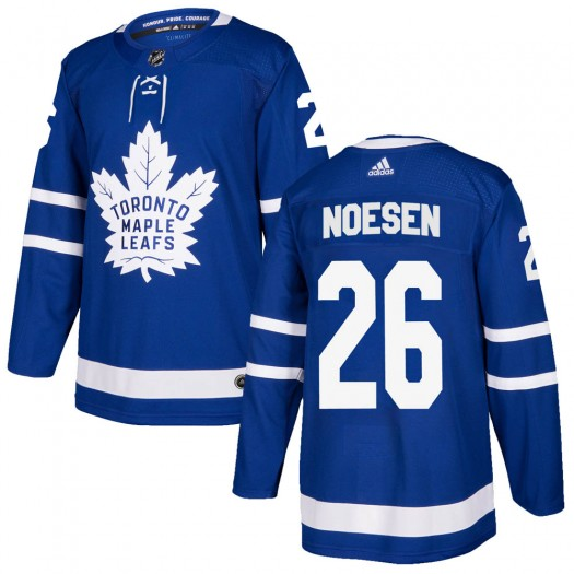 Stefan Noesen Toronto Maple Leafs Youth Adidas Authentic Blue Home Jersey
